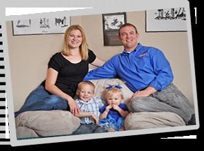 Matt Shoup and family