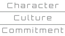 Character, Culture, Commitment