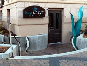 DSC_0003 Front door Blue Agave Grill