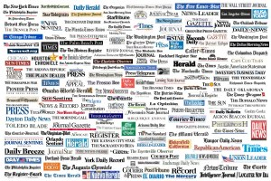 Newspaper brands