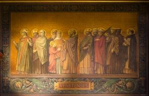 Procession des saints de Bretagne - diocèse de Vannes, cathédr